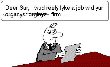 Overuse of capitalization: Or, how to annoy a resume